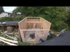 Building a 12x16 Shed, Workshop part 2