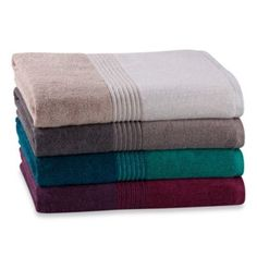Kas Solid Wash Cloth in Colors - BedBathandBeyond.com - In Teal