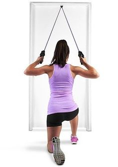 Interchangeable SKLZ Resistance Bands--and a Full-Body Workout! : Finally, a killer home workout using an easy, compact resistance band system Resistance Tube, Resistance Band Exercises, Core Exercises, Resistance Workout, Easy Workouts, At Home Workouts, Workout Routines, Butt Workouts, Workout Plans