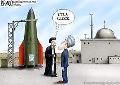 Iran nuke ticking away as many of our leaders remain oblivious of their deception.  A.F.Branco ©2015
