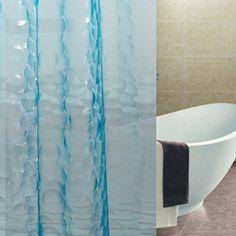 "VDOMUS® PEVA Shower Curtain, No More Mildew Waterproof Bathroom Curtain, Clear, 72"" x 72"" (Blue)) VDOMUS http://www.amazon.com/dp/B00NGD73JO/ref=cm_sw_r_pi_dp_WTxwub18QCRF4"