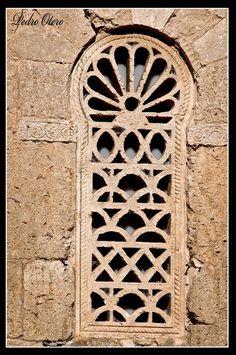 San Juan de los Baños PALENCIA(España)  Celosía VISIGODA  foto Pedro Otero
