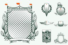 nice 7 Heraldic luxury shields  #ANTIQUE #ARMS #art #award #banner #BAROQUE #classic #CLASSICAL #coat #crest #CROWN #decor #decoration #design #drawing #elegant #element #emblem #floral #frame #HERALDIC #HERALDRY #HISTORY #icon #illustration #insignia #invitation #label #LAUREL #leaf #line #logo #metal #OF #old #ornament #ornamental #ornate #retro #ribbon #ROYAL #ROYALTY #shape #SHIELD #sign #sketch #symbol #TRADITIONAL #vector #victorian #vintage