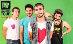 Sabato 3 gennaio 2015 il Bradipop Rimini riparte con una nuova serata di musica rock e afro insieme a una band molto speciale, Espana Circo Este.