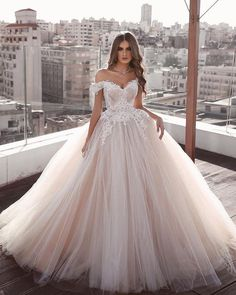 Off the shoulder wedding dresses ball gown 2020 lace appliqué beaded princess boho wedding go. Off the shoulder wedding dresses ball gown 2020 lace appliqué beaded princess boho wedding gowns, Wedding Dresses For Girls, Princess Wedding Dresses, Perfect Wedding Dress, Bridal Dresses, Dress Wedding, Tulle Wedding, Princess Bridal, Bridesmaid Dresses, Mermaid Wedding