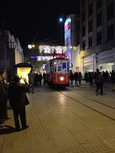 Tram at Taksim, Istanbul