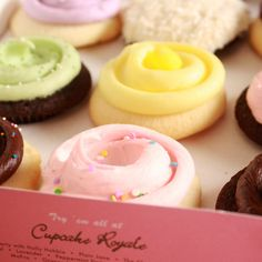 Cupcake Royale in Ballard, Madrona, Capitol Hill, Bellevue, and West Seattle!