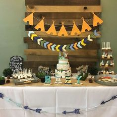 Woodland Adventure Baby Shower Party Ideas | Photo 2 of 27