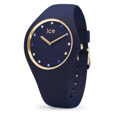 016301 Montre Ice-Watch cosmos blue shades S Nouveauté Ice-Watch Ice Watch, Mvmt Watches, Big Watches, Cool Watches, Trendy Watches, Best Watches For Men, Swarovski, Bracelet Silicone, Cosmos