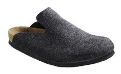 f286e0fbf31e3 Birkenstock clogs Davos from Birko-Felt in anthracite with a narrow insole  Birkenstock.  32.49