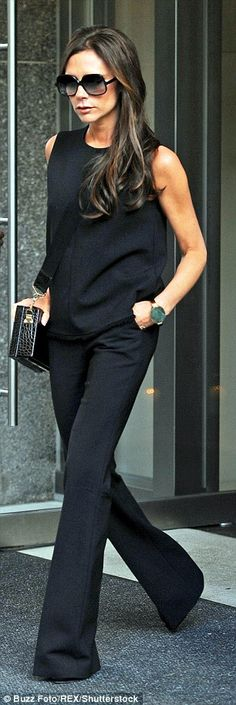 Victoria Beckham's right arm went missing, then her left hand - now it's herf eet   Daily Mail Online