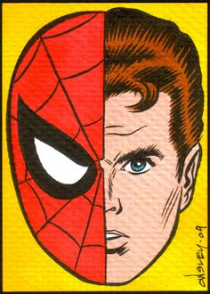 Spider-man SKETCH CARDS FOR SALE by PATRICK OWSLEY at Coroflot.com