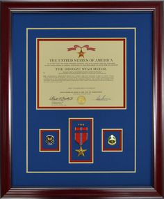 Gallery - Custom Framed Military Medals and Ribbons - Framed Guidons Military Medals And Ribbons, Custom Shadow Box, Military Shadow Box, Ribbon Display, Military Awards, War Medals, Amazing Nature Photos, Display Cases, Usmc