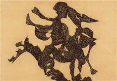 Rider - Vajda Lajos - 1939 Art Database, Surrealism, Street Art, Moose Art, Portrait, Artwork, Graphics, Paintings, Style