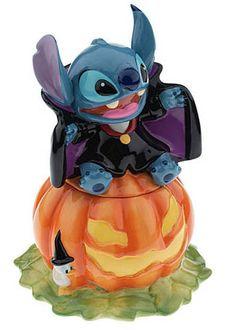 Stitch Halloween Cookie Jar