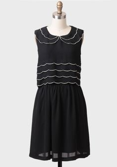 West Bridgford Tiered Dress By Knitted Dove at #Ruche @mimi ヾ(^∇^)