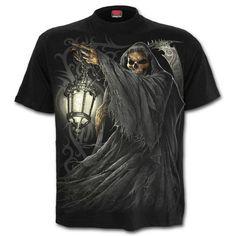 SPIRAL   Death Lantern T-Shirt https://www.highvoltageclothing.com  #steampunk #alternativeclothing #fashionblogger #punk #newzealandfashion #metal #gothgear #tribal #biker #heavymetal