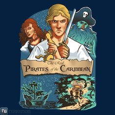 Pirates of the Caribbean and Monkey Island!!