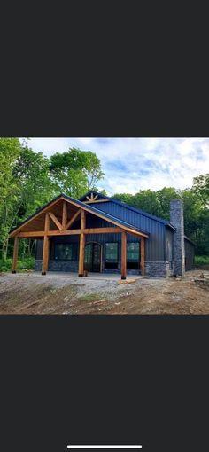 Barn Homes Floor Plans, Pole Barn House Plans, Pole Barn Homes, New House Plans, Dream House Plans, House Floor Plans, Barn House Kits, Metal Building House Plans, Steel Building Homes