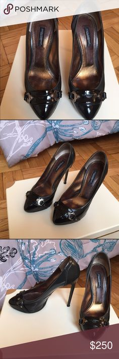 Dolce and Gabbana Pumps Dolce and Gabbana Black and Grey Pumps - size 6 - a little worn out - Includes Dust Bag Dolce & Gabbana Shoes Heels