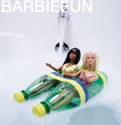 kleinFORMAT: Mittwochs drinnen: Barbiefun