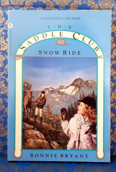 Saddle Club Snow Ride by Bonnie Bryant horse riding very good cond used PB Chapter Books, Horse Riding, Snow, Horses, Club, Horse, Human Eye, Horseback Riding