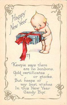 Vintage Kewpie Postcard by chicks57, via Flickr