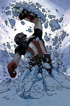 CAPTAIN AMERICA #25 Adam Hughes Variant Cover