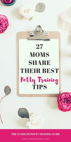 27 Moms Share Their Best Potty Training Tips_The Ultimate Potty Training Guide | Potty Training Your Toddler | Potty Train | Parenting | This is the ultimate resource for how to train your late bloomer, child with special needs, stubborn toddler, and everything in between! 27 Moms share their absolute best tips! Click to read on www.amamatale.com #parenting, #pottytrain #pottytrainingtips