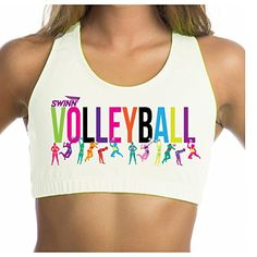 Swinn Volleyball Sports Bra * You can get additional details at the image link.(This is an Amazon affiliate link and I receive a commission for the sales)