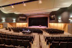 The auditorium at Liberty High School.