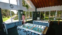 Ciudad selección   Distracción. Metegol y ping-pong, dos clásicos en las concentraciones . Foto: Gerardo Horovitz