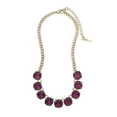 Color Code Plum Collar Necklace $48 #Freeshipping for all $100 + orders. #freestuds for all $125+ orders. Shop online 24/7 at my online boutique NOW  https://www.chloeandisabel.com/boutique/ursulaball#21042  #candiholiday #Holidays2014 #Christmas #shopping #blackfriday #perfectgift #necklace #plum