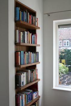 Maatwerk boekenkast, door Ontwerpstudio VanderValk Arnhem