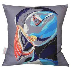 Perfect Puffin Cushion W48 x D48 cm