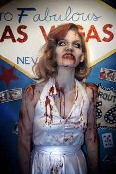 Marilyn Monroe Zombie | Halloween Hair & Makeup