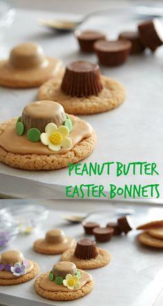 Peanut Butter Easter Bonnets Recipe
