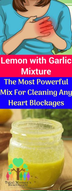 e0e4d7029d41 Lemon with Garlic Mixture  The Most Powerful Mix For Cleaning Any Heart  Blockages