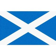 official Flag Scottish St. Andrews Lighter Blue as decided by the Scottish Parliment in 2003 3'x2' Flag