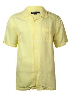 Cremieux Men's Classics Sunwashed Silk/Linen Shirt