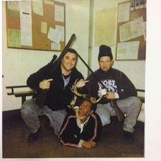 Chicago Judge Releases 'Disgusting' Photo Of Disgraced Cops Posing With Black Man Forced To Wear Antlers:  http://chicago.suntimes.com/crime/7/71/587596/judge-wont-seal-photo-cpd-cops-posing-african-american-man-antlers
