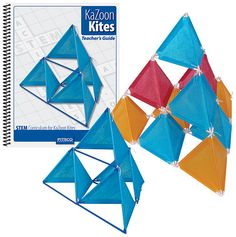 Kite building curriculum and kit Homeschooling Resources, Curriculum, Kite Building, Kite Designs, Math Art, Teacher Stuff, School Stuff, Lab, Crafts For Kids