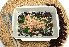 Salade chaude ! #hot #salad #hotbox #new #happy #excited #delicious #yummy #tasty #rain #salmon #sesame #homemade #instafood #pictureoftheday #lamaisondesproteines #paris9 #11ruelafayette #restaurant #lunch #nutrition #regime #lowcal