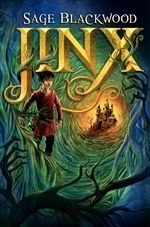 """""""Jinx"""" by Sage Blackwood - Jinx is having a pretty rough time. Born into a humble clearing in the magical forest of the Urwald, his stepparents have decided that he's a bit inconvenient, what with the new baby coming and all. So, his not-very-nice stepfather is planning to abandon him to die in the thick of the forest. Jinx is saved at the last minute, but unfortunately by Simon, who is a good cook and a decent-but-possibly-evil wizard who may or may not be planning to do something dastar"""