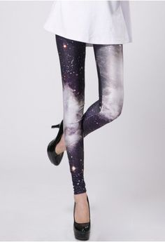 Galaxy Black Legging