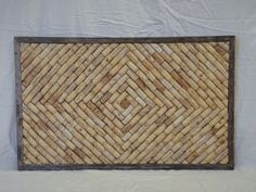 Wine Cork Corkboard. $115.00, via Etsy.