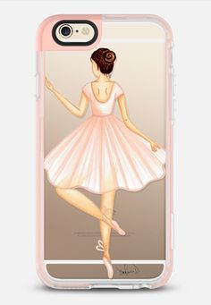 Ballerina iPhone 6s case by the pretty pink studio | @casetify