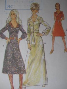 SeeSallySew.com - Front Button Dress Vintage Style 3181 Pattern Sz. 10, $8.00 (http://stores.seesallysew.com/front-button-dress-vintage-style-3181-pattern-sz-10/)