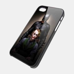 BATMAN AND JOKER IN THE DARK KNIGHT for iPhone 4/4s/5/5s/5c, Samsung Galaxy s3/s4 case