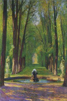 Henri-Jean Guillaume Martin (1860-1943)   Versailles